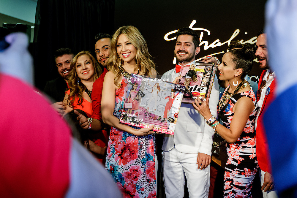RANCHO CUCAMONGA, CA - MARCH 28: Music  icon Thalia attends the launch of the Thalia Sodi Collection at Macy's Victoria Gardens in Rancho Cucamonga, California. Hundreds of fans waited to have a chance for a photo with the latin diva. 2015 Mar 28. Byline, credit, TV usage, web usage or linkback must read SILVEXPHOTO.COM. Failure to byline correctly will incur double the agreed fee. Tel: +1 714 504 6870.