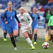 HARRISON, NEW JERSEY- MARCH 4:  Amadine Henry #6 of France in action during the France Vs Germany SheBelieves Cup International match at Red Bull Arena on March 4, 2017 in Harrison, New Jersey. (Photo by Tim Clayton/Corbis via Getty Images)