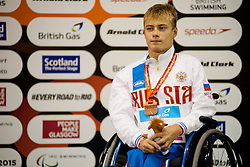 MAKAROV Alexander RUS at 2015 IPC Swimming World Championships -  Men's 50m Backstroke S3
