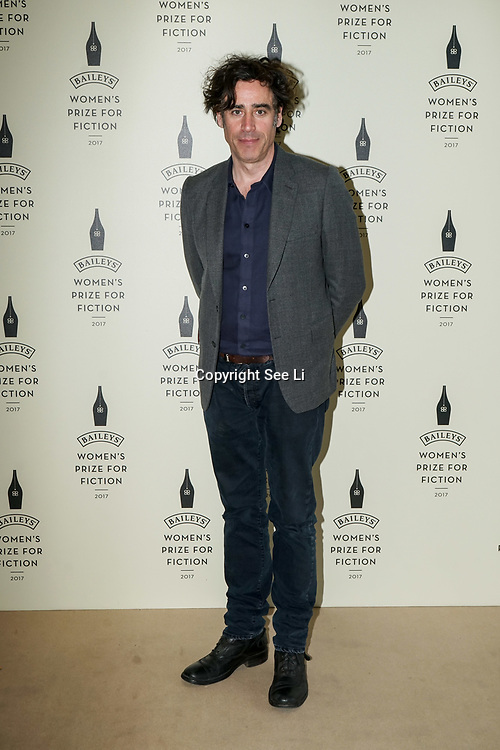 London,UK. 7th June 2017. Stephen Mangan attends a photocall The Baileys Prize for Women's Fiction Awards 2017 at the The Royal Festival Hall, Southbank Centre. by See Li