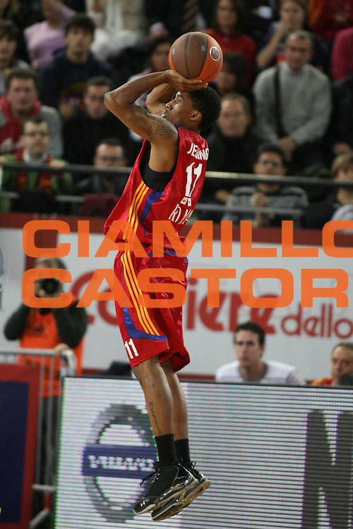 DESCRIZIONE : Roma Eurolega 2008-09 Lottomatica Virtus Roma Ulker Fenerbahce<br /> GIOCATORE : Brandon Jennings<br /> SQUADRA : Lottomatica Virtus Roma<br /> EVENTO : Eurolega 2008-2009<br /> GARA : Lottomatica Virtus Roma Ulker Fenerbahce<br /> DATA : 27/11/2008 <br /> CATEGORIA : tiro<br /> SPORT : Pallacanestro <br /> AUTORE : Agenzia Ciamillo-Castoria/E.Castoria