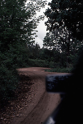 1976 - 1977:  Road from Alto Pas to Bald Knob.<br /> <br /> <br /> This image was scanned from a slide, print or transparency.  Image quality may vary.  Dust and other unwanted artifacts may exist.