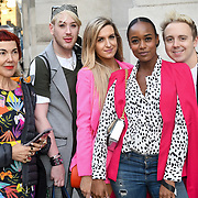Lewis-Duncan weedon,Victoria Brown,Annaliese Dayes, John Galea attend Fashion Scout - SS19 - London Fashion Week Day 2, De Vere Grand Connaught Rooms, London, UK. 16 September 2018