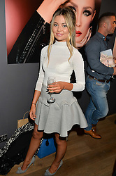 GEORGIA TOFFOLO at the launch of Simply Glamorous by Gary Cockerill held at Alon Fine Art, 5-7 Dover Street, London on 16th September 2015.