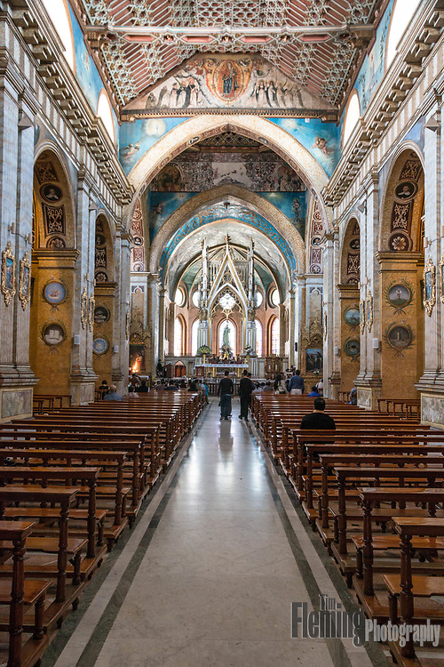 The Church of Santo Domingo represents one of the most important religious structures in Quito.
