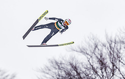 01.02.2019, Heini Klopfer Skiflugschanze, Oberstdorf, GER, FIS Weltcup Skiflug, Oberstdorf, Qualifikation, im Bild Killian Peier (SUI) // Killian Peier of Switzerland during his Qualification Jump of FIS Ski Jumping World Cup at the Heini Klopfer Skiflugschanze in Oberstdorf, Germany on 2019/02/01. EXPA Pictures © 2019, PhotoCredit: EXPA/ JFK