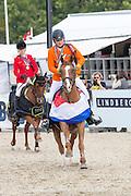 Rowen van de Mheen - Quaprice d' Astree<br /> FEI European Championships Ponies 2016<br /> © DigiShots