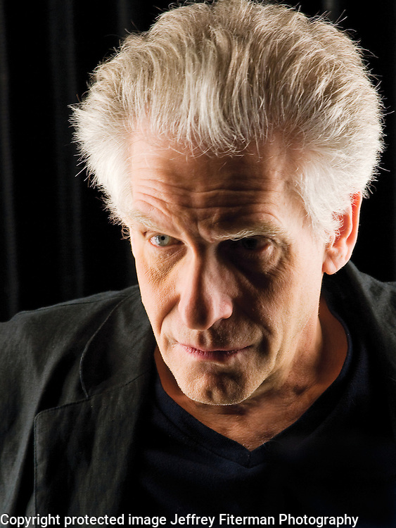 David Cronenberg photographed for Venice Magazine in Los Angeles, CA