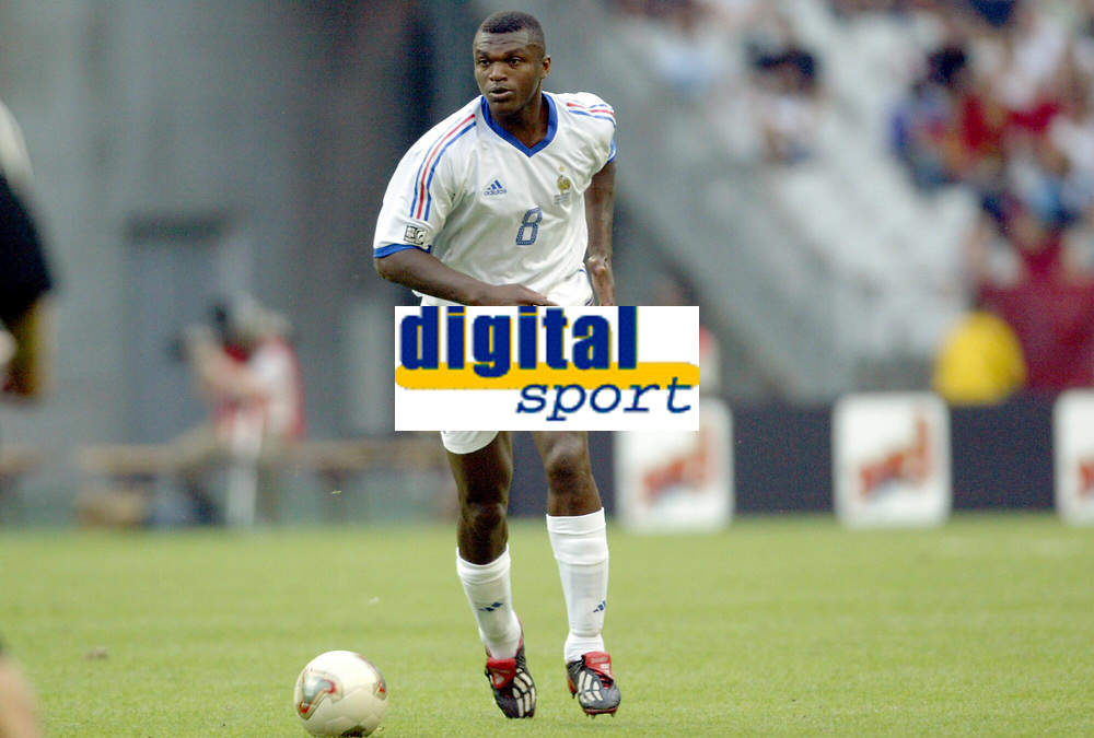 FOOTBALL - CONFEDERATIONS CUP 2003 - GROUP A - FRANKRIKE v NEW ZEALAND - 030622 - MARCEL DESAILLY (FRA) - PHOTO GUY JEFFROY / DIGITALSPORT