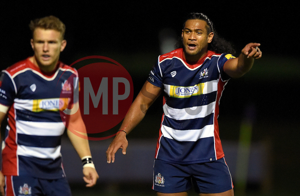 Thretton Palamo of Bristol United  - Mandatory by-line: Joe Meredith/JMP - 12/09/2016 - RUGBY - Clifton RFC - Bristol, England - Bristol United v Harlequins A - Aviva A League