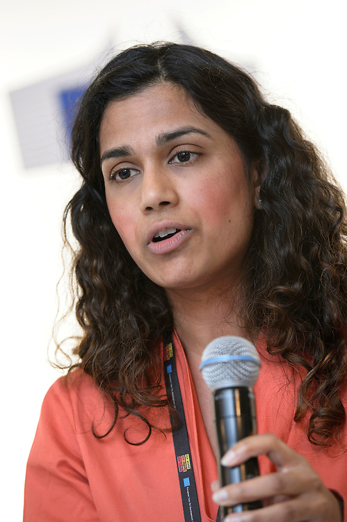 03 June 2015 - Belgium - Brussels - European Development Days - EDD - Trade - Empowering smallholders participation in global supply chains - Shivani Reddy , Policy officer © European Union
