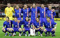Fotball<br /> Privatlandskamp 23.05.2006<br /> Østerrike v Kroatia / Austria v Croatia<br /> Foto: Gepa/Digitalsport<br /> NORWAY ONLY<br /> <br /> Lagbilde Kroatia<br /> Bild zeigt vo. li.: Darijo Srna, Ivan Klasnic, Niko Kovac, Niko Kranjcar, Dario Simic, hi. li.: Stipe Pletikosa, Stjepan Tomas, Dado Prso, Igor Tudor, Marko Babic, Robert Kovac (CRO)