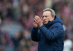Cardiff City manager Neil Warnock looks dejected at the final whistle - Mandatory by-line: Jack Phillips/JMP - 13/04/2019 - FOOTBALL - Turf Moor - Burnley, England - Burnley v Cardiff City - English Premier League