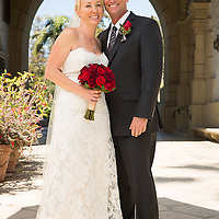 Andrea Lynne and Stephen Wroe Wedding Santa Barbara Courthouse Wedding