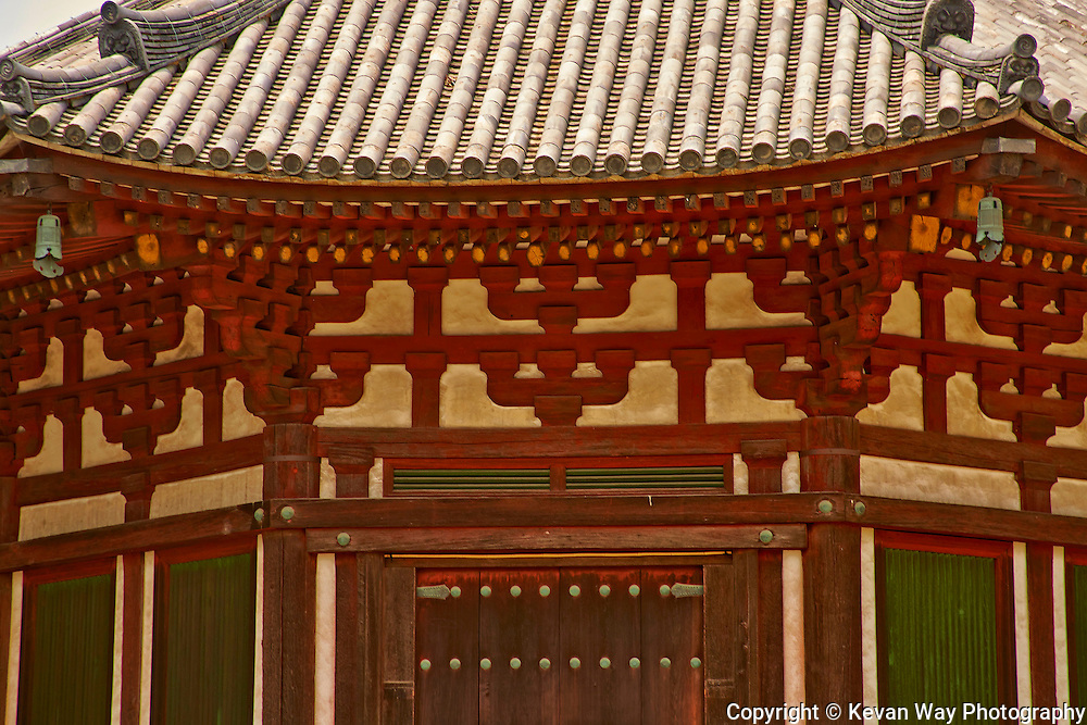 temple detail Kyoto Japan