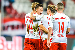 20.11.2016, Red Bull Arena, Salzburg, AUT, 1. FBL, FC Red Bull Salzburg vs SK Rapid Wien, 15. Runde, im Bild Torjubel Red Bulls nach dem 2:0 durch Stefan Lainer // Goal Celebration Red Bulls after the Stefan Lainer scores during Austrian Football Bundesliga 15th round Match between FC Red Bull Salzburg and SK Rapid Vienna at the Red Bull Arena, Salzburg, Austria on 2016/11/20. EXPA Pictures © 2016, PhotoCredit: EXPA/ JFK