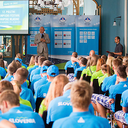 20130709: SLO, Olympic movement - Team Slovenia at 12th European Youth Olympic Festival in Utrecht