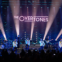 Male harmony group The Overtones live in concert at The Royal Concert Hall, Glasgow, UK 11th December 2019