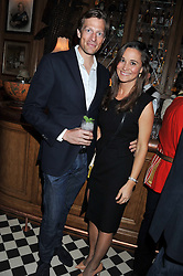 PIPPA MIDDLETON and NICO JACKSON at a party to celebrate the launch Mr Fogg's, 15 Bruton Lane, London W1 on 21st May 2013.