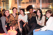 JULIA DIAS,CHARLIE GORDON; LUCY BUTLER; KANDICE HOLMES, ( SANDY BELLS)  The launch screening of &Ocirc;Animal Charm&Otilde;  and &Ocirc;Susie Lovitt&Otilde; - W hotel leicester sq. London. 31 January 2012.<br /> JULIA DIAS,CHARLIE GORDON; LUCY BUTLER; KANDICE HOLMES, ( SANDY BELLS)  The launch screening of &lsquo;Animal Charm&rsquo;  and &lsquo;Susie Lovitt&rsquo; - W hotel leicester sq. London. 31 January 2012.