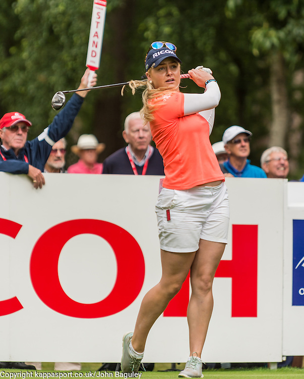 ENGLANDS CHARLEY HULL, Ricoh Womans British Open Golf Championship 2016, Woburn Golf Club 28th-31st July 2016, Sunday 31st July