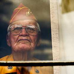 Portraits of Navajo Code Talker Wilfred Billy