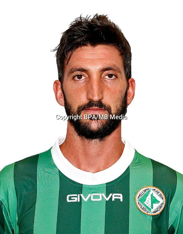 Italian League Serie B -2016-2017 / <br /> ( U. S. Avellino 1912 ) - <br /> Davide Gavazzi