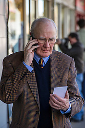 Pictured: Menzies Campbell<br /> Scottish Liberal Democrat candidate for Edinburgh West, Christine Jardine launched her campaign today for the Weastminster Parliament. She wase joined by former leader Menzies Campbell, MSP Alex Cole-Hamilton and Scottish Liberal Democrat leader Willie Rennie.<br /> <br /> Ger Harley | EEm 6 May2017
