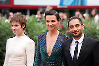 at the gala screening for the film L'attesa at the 72nd Venice Film Festival, Saturday September 5th 2015, Venice Lido, Italy.
