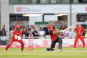 Will Smith of Durham Jets during the Vitality T20 Blast North Group match between Lancashire Lightning and Durham Jets at the Emirates, Old Trafford, Manchester, United Kingdom on 7 August 2018.