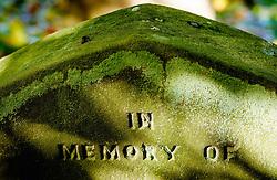 Close up detail of gravestone at Melrose Abbey, Melrose. Scottish Borders<br /> <br /> (c) Andrew Wilson | Edinburgh Elite media