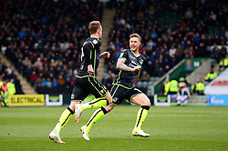 Chris Lines of Bristol Rovers celebrates scoring a goal with James Clarke - Mandatory by-line: Dougie Allward/JMP - 17/03/2018 - FOOTBALL - Home Park - Plymouth, England - Plymouth Argyle v Bristol Rovers - Sky Bet League One