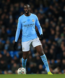 Yaya Toure of Manchester City - Mandatory by-line: Matt McNulty/JMP - 09/01/2018 - FOOTBALL - Etihad Stadium - Manchester, England - Manchester City v Bristol City - Carabao Cup Semi-Final First Leg