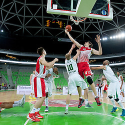 20131020: SLO, Basketball - ABA League, KK Union Olimpija vs KK Crvena Zvezda