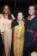 28 April 2011- New York,  NY-  l to r: Susan Taylor, Ntozake Shange,  Harriette Cole at The Sparkling Celebration for the Birthday of Harriette Cole held at the Galapagos Art Space on April 27, 2011 in Brooklyn, NY Photo Credit: Terrence Jennings