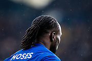 Chelsea (15) Victor Moses  during the Premier League match between Chelsea and West Ham United at Stamford Bridge, London, England on 8 April 2018. Picture by Sebastian Frej.