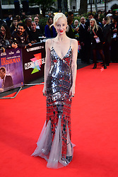 Andrea Riseborough attending the Closing Gala and International premiere of The Irishman, held as part of the BFI London Film Festival 2019, London.
