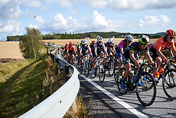Audrey Cordon-Ragot (FRA) speeding toward the finishing circuit during Ladies Tour of Norway 2019 - Stage 2, a 131 km road race from Mysen to Askim, Norway on August 23, 2019. Photo by Sean Robinson/velofocus.com