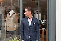 Mats Klingberg, owner / founder of Trunk Clothiers in Chiltern Street, Marylebone, London.