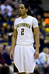 February 11, 2010; Berkeley, CA, USA;  California Golden Bears guard Jorge Gutierrez (2) during the second half against the Washington Huskies at the Haas Pavilion.  California defeated Washington 93-81.