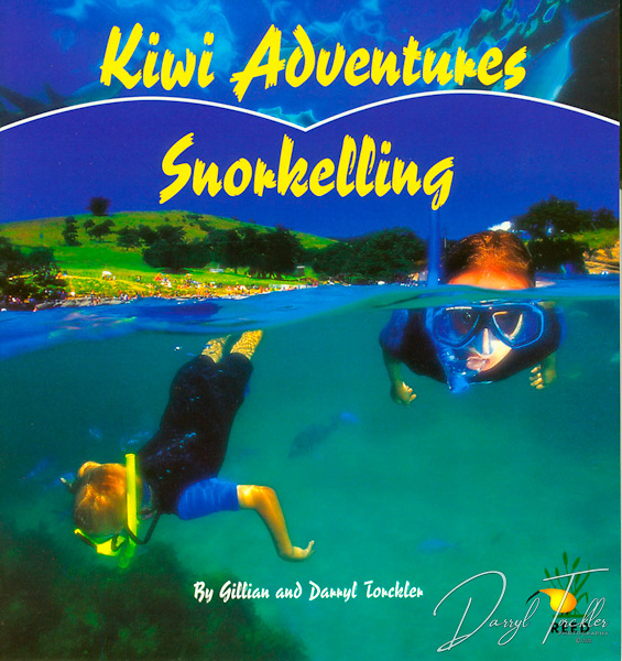 """Free postage in New Zealand.<br /> <br /> Read about Jessica & joseph's preparations to go snorkelling in the sea. They learn how to """"duck' dive under the water in thier school pool, chosse best fitting mask, snorkel & fins., and learn how to communicate underwater. Read about some of the fish & animals they encounter and which ones to avoid.  Set in the Goat island marine reserve.  Softcover, 24 pages. ISBN Number: 186948729X"""
