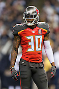 NEW ORLEANS, LA - SEPTEMBER 20:  Bradley McDougald #30 of the Tampa Bay Buccaneers looks to the sidelines during a game against the New Orleans Saints at Mercedes-Benz Superdome on September 20, 2015 in New Orleans Louisiana.  The Buccaneers defeated the Saints 26-19.  (Photo by Wesley Hitt/Getty Images) *** Local Caption *** Bradley McDougald