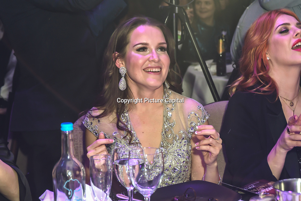 Julia Titova is a judge of the Grand Final MISS USSR UK 2019 at Hilton Hotel Park Lane on 27 April 2019, London, UK.