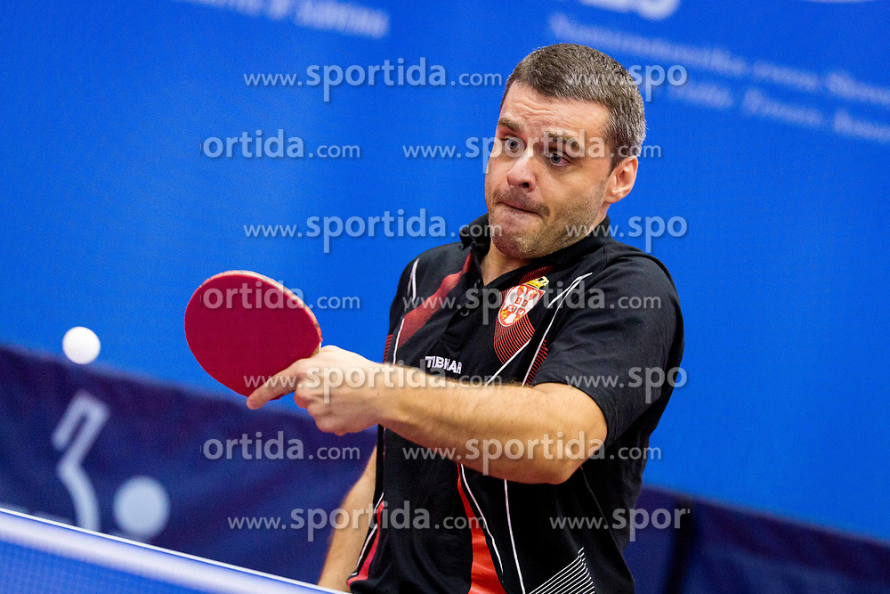 ZELEN Milan during day 2 of 15th EPINT tournament - European Table Tennis Championships for the Disabled 2017, at Arena Tri Lilije, Lasko, Slovenia, on September 29, 2017. Photo by Ziga Zupan / Sportida