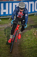 During Official Training at the 2019 UCI Cyclo Cross World Championships in Bogense, Denmark