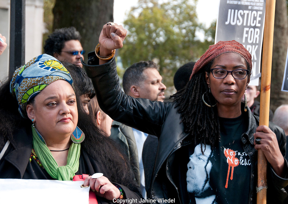 Marcia Rigg & Zita Holborne at Annual Rally and campaigne against Deaths in Custody held by United Families and Friends