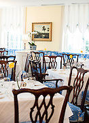 Carolina Crossroads dining room, at the Carolina Inn.