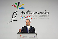 Antananarivo - 16th Francophone Summit In Madagascar - 26 Nov 2016