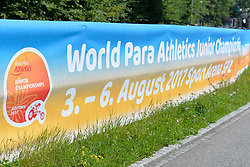 02/08/2017; Behind the scenes at 2017 World Para Athletics Junior Championships, Nottwil, Switzerland