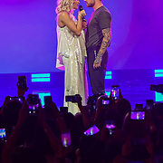 Rita Ora and Liam Payne Performances at Westfield London's 10-year birthday celebrations at Westfield Square on 30 October 2018, London, UK.